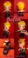 chibi Chris Jericho plush version by Momoiro-Botan