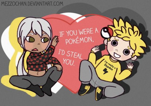I'd steal you by Mezzochan