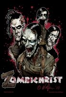 Zombichrist poster by WolfieArtGuy