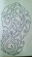 maori/ polynesian design by gbftattoos