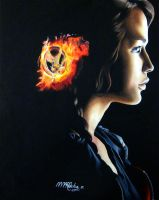THE HUNGER GAMES - KATNISS by rochafeller