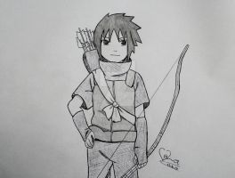 little Sasuke by ViivaVanity