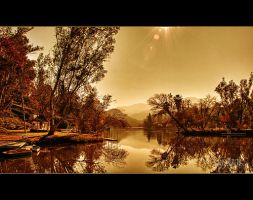 lake under the sun by KrisKros2k