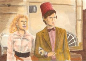 River and The Doctor by LauraInglis