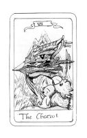 FFIX Tarot: 7 The Chariot by sugerplumfairygirl