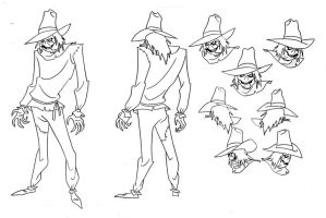 Scarecrow Model Sheet by Nes44Nes