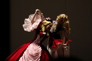 Oscar and Marie Antoinette in dance by Lilian-hime