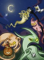 Ghosts of Death by Ashteritops