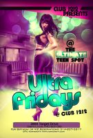 Ultra Fridays Flyer by Numbaz