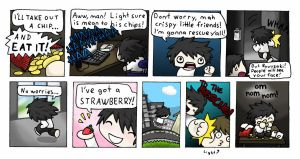 silly Death Note fan comic by Lobonito