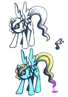 colour bee one by Chibi-C