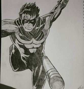 nightwing  by CambodianFire