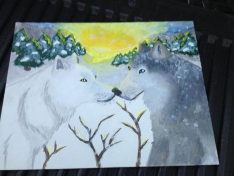 Wolf Love by Allybee123