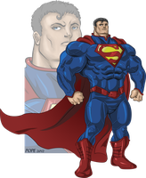 Super Superman by hulkdaddyg