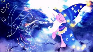 Wallpaper Mighty wizard Twilight by Barrfind