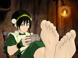 Toph (The Library) by neverb4
