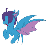 Zubat pony adoptable CLOSED by Fluffomaru