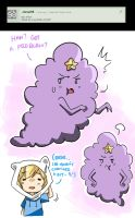 Q16 - Lumpy Space Princess by Ask-Awesome-Finn