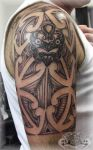Maori Half Sleeve by state-of-art-tattoo