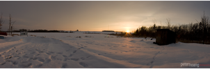 Winter Panorama At Guelph by Razgriz-Six