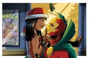 Big Barda and Mr. Miracle Commission by MachSabre