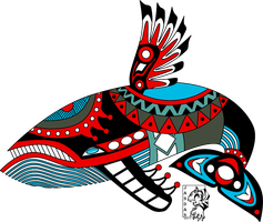 Windfish Haida Tattoo by Songficcer