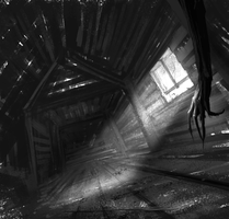 Thing in the Attic by AlexRuizArt