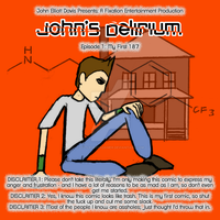 John's Delirium ep 001 cover by LittleGreenGamer