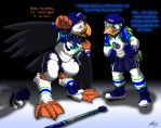 New Puffins Player - 5/6 by Pheagle-Adler
