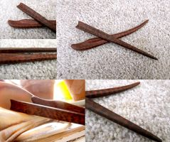 Abstract Snakewood Hair Set by ValkyrieOfODIN