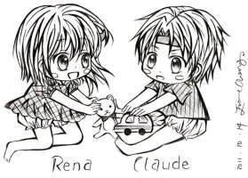 Claude and Rena by REBORNxYUI