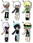 Pastel Goth Satanists Collab (Open) by Shining-Star-Adopts