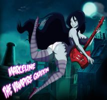 Marceline The Vampire Queen by grimphantom