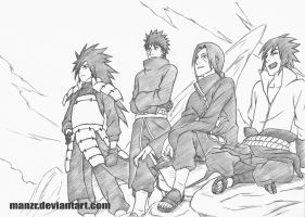 Because We're Uchiha! by manzr
