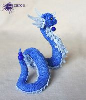 Pokemon Dragonair - Sculpture by Escaron