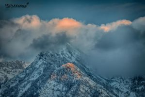 Touch of Sun on Snow HDR by mjohanson