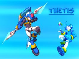 Thetis Wallpaper by DarkGreiga