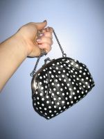 BW spotted purse w hand 2 by SerendipityStock