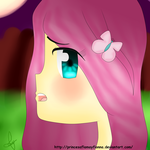 Fluttershy Human by princesaflamayfionna