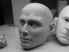 Namonaki 1/3 BJD head in-progress by Switchum