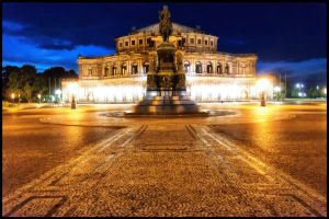 Dresden - Semperoper I by calimer00