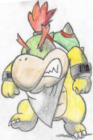 PacDuck Draws: Bowser Jr. by PacDuck