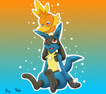 Collab with kiraford3 -Completed- by xFoxblaze