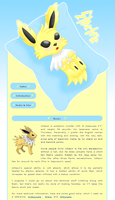 Jolteon 02 by MikariStar