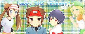 Mei, Kyouhei, Hyuu and Bianca #happybw2releaseday by hyuugalanna