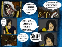 Midnight Movie Curse part 4 .CoLoReD. by werewolfGene