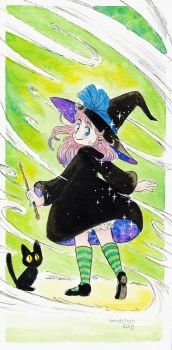 Little Witch by bmdchan