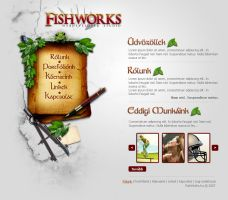 Fishworks Portfolio Layout by zLk