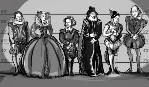 Shakespeare commission by joeyv7