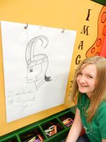 Loki Protrait (Another Quick Crayola Store Trip) by JediSkygirl